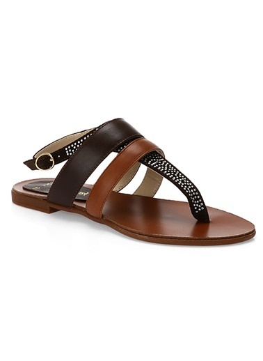 Hakiki Deri Sandalet-Matraş